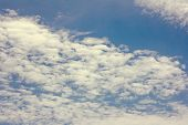 The Sky With Beautiful Clouds. Beautiful Blue Sky With Clouds Background.sky Clouds.sky With Clouds  poster