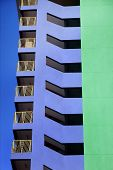 Abstract Building poster