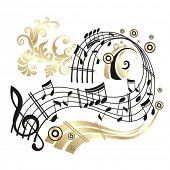 stock photo of musical note  - Music Note - JPG
