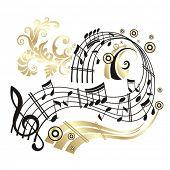 stock photo of music note  - Music Note - JPG