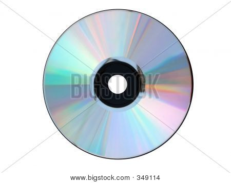 Un Cd - Dvd plata blanco