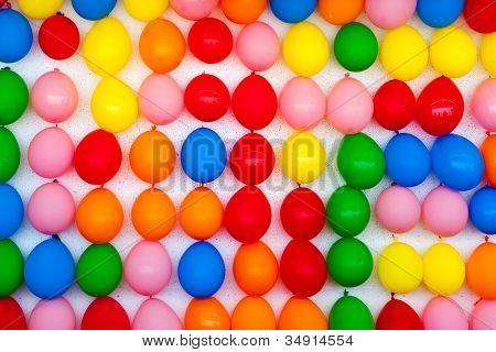 Wall Of Balloons