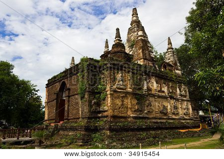 Thai Ancient Pagoda
