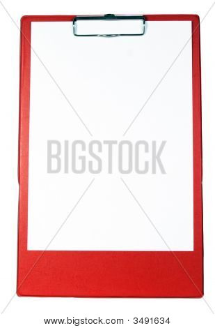 Red Clipboard
