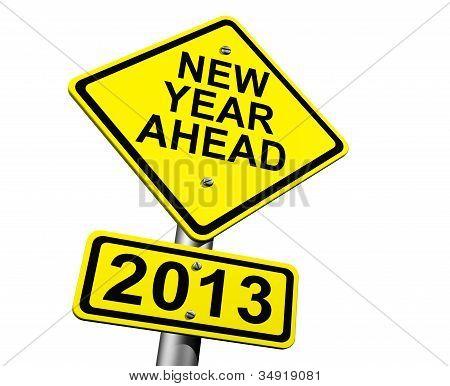 Año nuevo futuro 2013