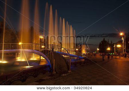 Dancing Fountain in Batumi
