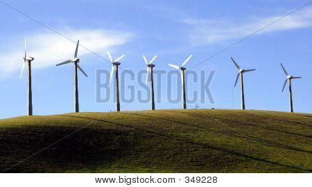Moinho de vento energias renováveis