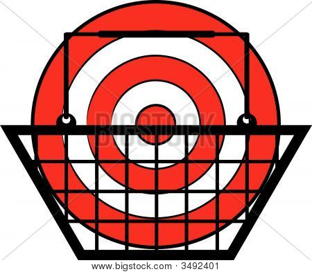 Shopping Basket With Target.