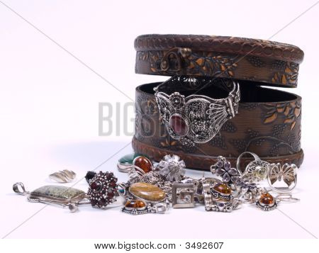 Opened Jewelry Box