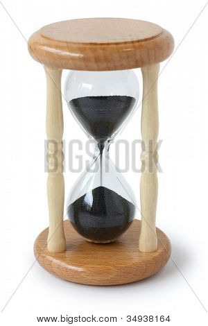 hourglass, sand glass, sand clock