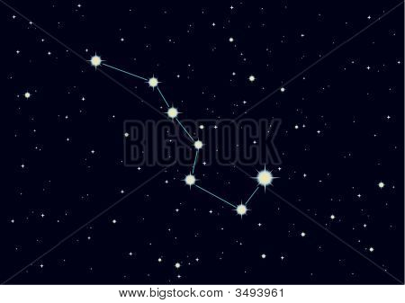 "Constellation ""The Great Bear"""
