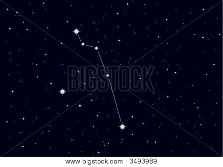"Vector Constellation ""Pisces"""