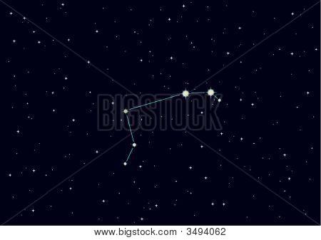 "Vector Illustration Of Constellation ""Aries"""