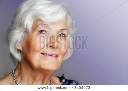 Elegant Senior Lady