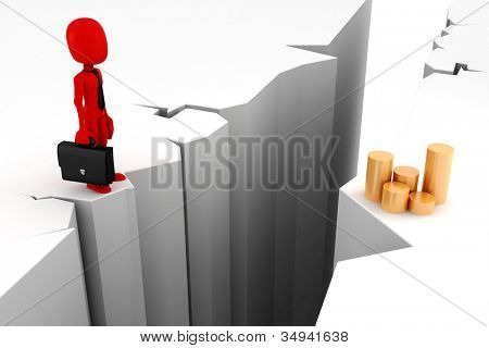 3d man, business motivation