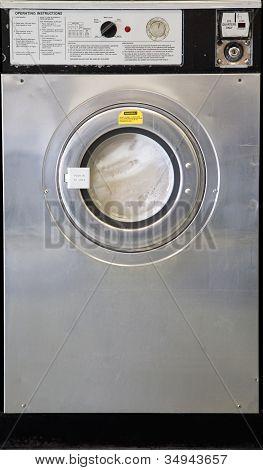 A Used Iindustrial Washing Machine