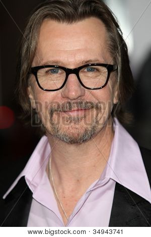 HOLLYWOOD - JAN 11: Actor Gary Oldman attends The Book of Eli premiere on January 11 2010 at Grauman's Chinese Theater in Hollywood, California.