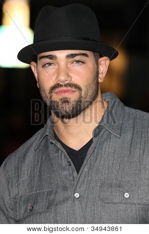 HOLLYWOOD - JAN 11: Jesse Metcalfe from Desperate Housewives attends The Book of Eli premiere on January 11 2010 at Grauman's Chinese Theater in Hollywood, California.