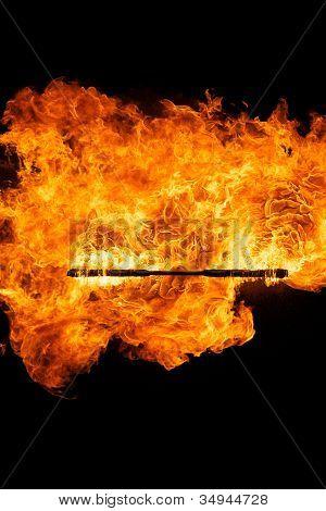 Palillo del fuego