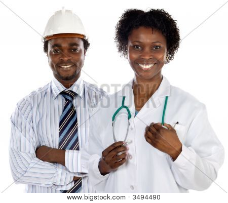 African Americans Doctor And Engineer