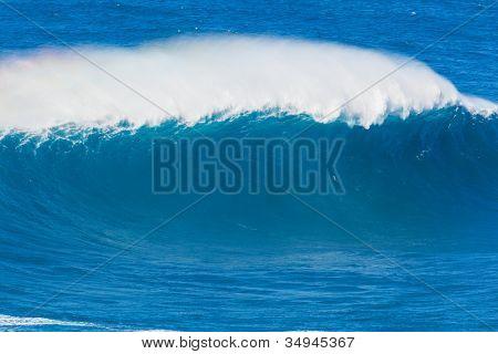Giant Beauitful Blue Ocean Wave