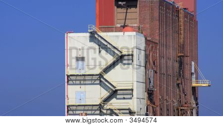 Industrial Paper Mill Buildings