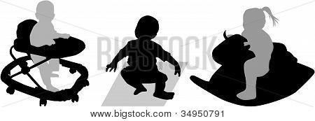 Babies  At Play
