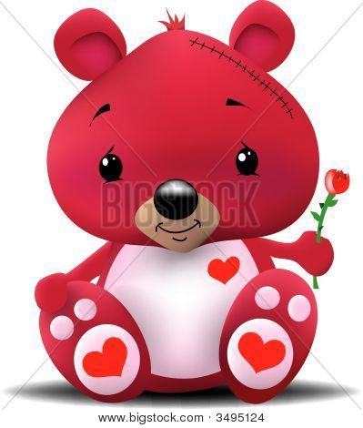 Teddy Heart Bear