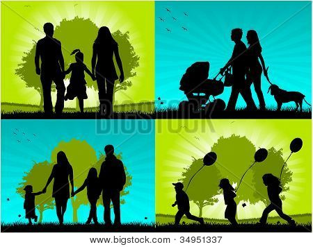 Family - Four Images