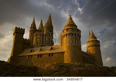 sand castle horizontal
