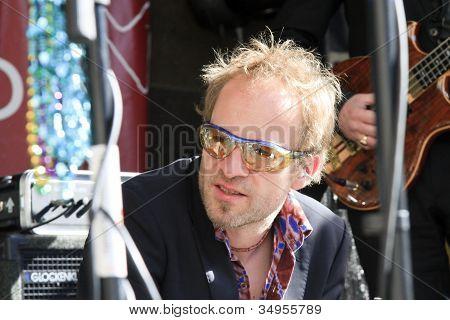 Jeroen Van Rhijn Looking Relaxed After The Performance