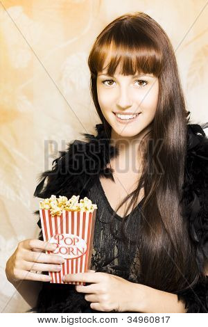 Buttered Popcorn At Showtime