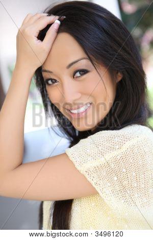 Pretty Sexy Asian Woman