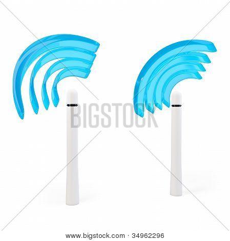3D Wifi Hotspot Antennas