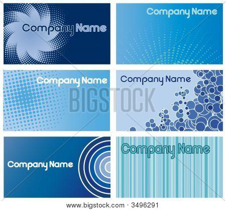 Blue Business Card Designs