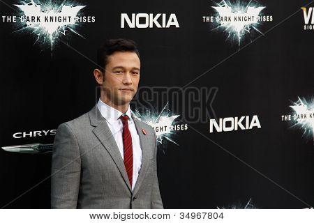 NEW YORK-JULY 16: Actor Joseph Gordon-Levitt attends the world premiere of