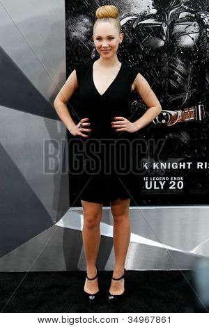 NEW YORK-JULY 16: Actress Juno Temple attends the world premiere of