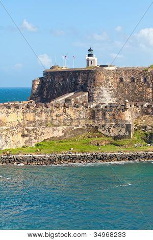 El Morro Castle In Puerto Rico