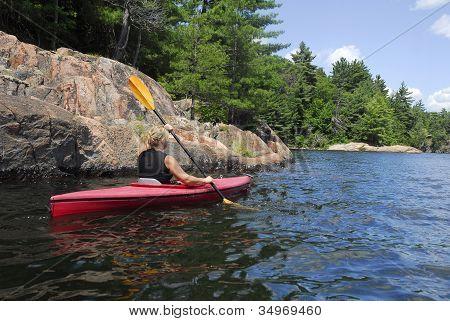 Kayaking The Waters Of Northern Ontario