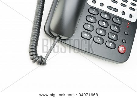Phone Isolated On White