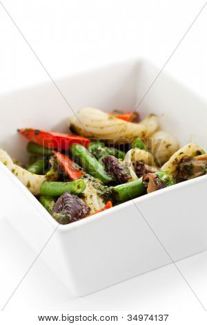 Seafoods with Various Vegetables Bowl