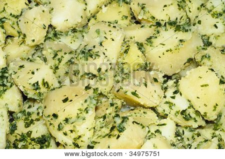 Diced Potato Garnish