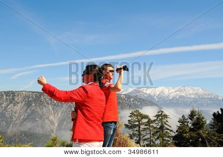 Erforschung der San Bernardino mountains