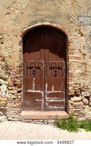 Weathered Door
