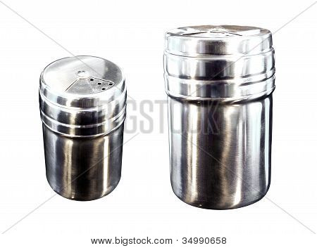 Stainless Pepper Mills