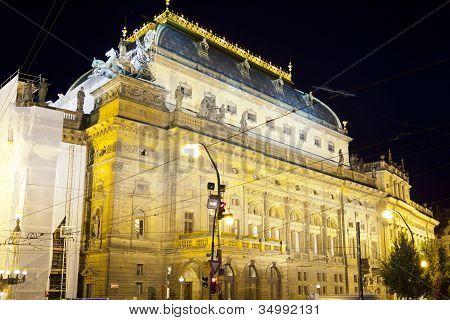 Prague National Narodni Divadlo