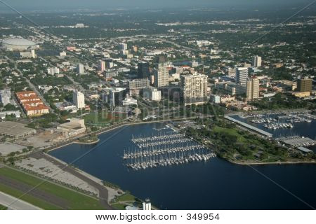 Downtown Of St. Petersburg