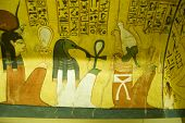 Ancient Egyptian Gods mural