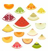 Fruit Wedge Set