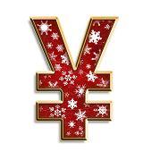 Snowflake Christmas Yen